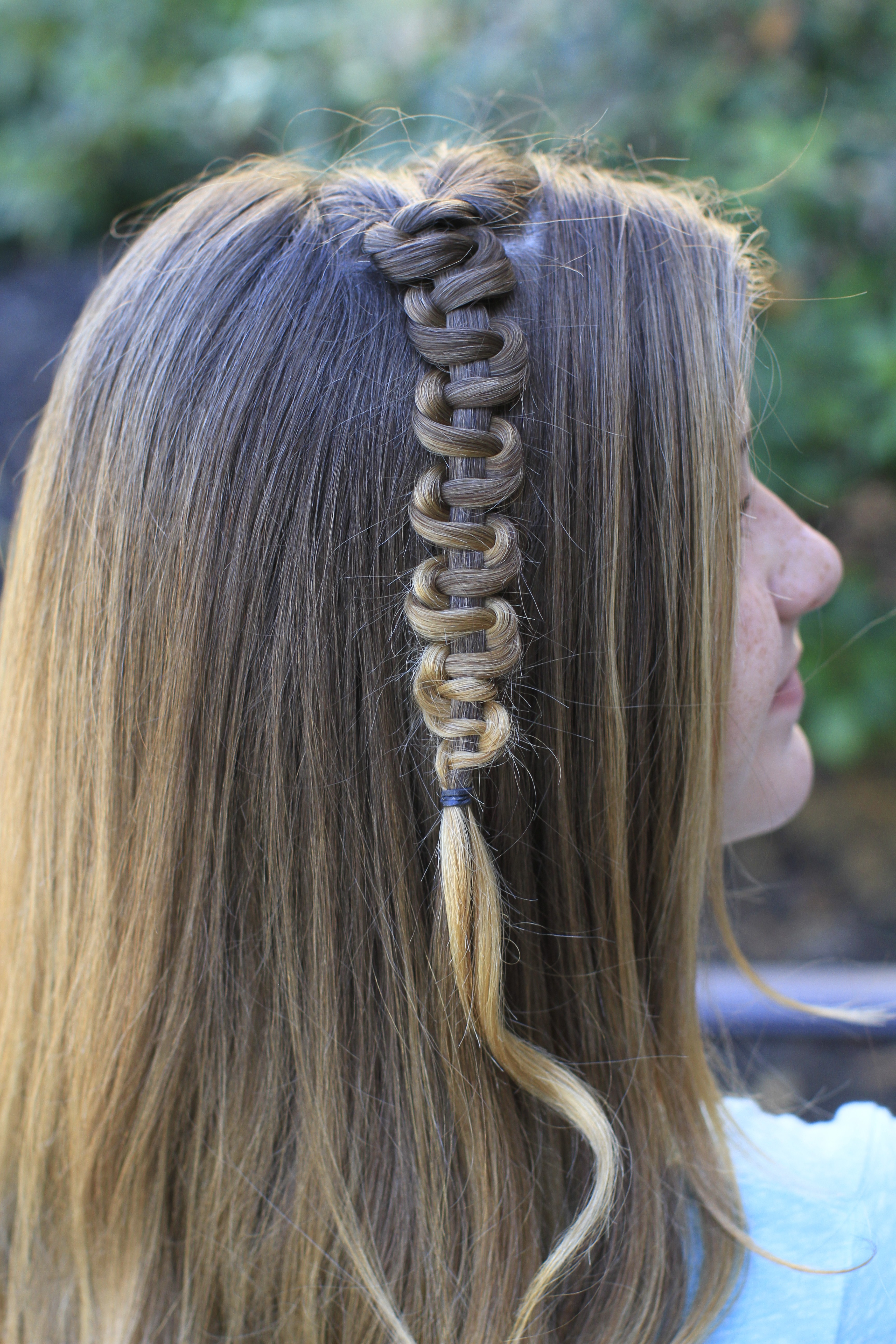 Teen Slide-Up Braid | St. Patrick\'s Day Hairstyle | Cute Girls ...