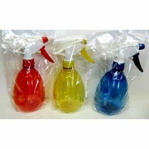 Water Spritz Bottles for use in hairstyles
