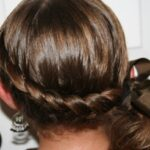 Wrap-Around French Ponytail