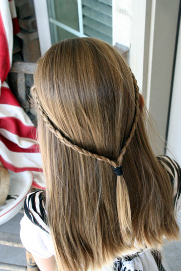 Glee Hairstyles Quinn Fabray Double French Tieback