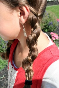 Close-up view of the Loony Braids | Crazy Hairstyles