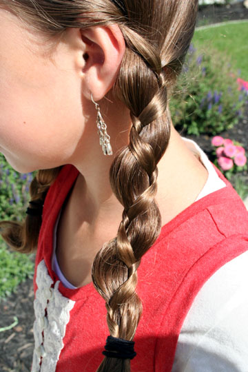 Loony Braids   Crazy Hair Day Hairstyles   Cute Girls Hairstyles