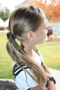 Tween Knots Ponytail