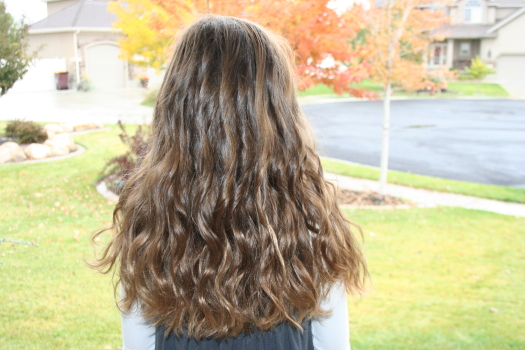 Curly Hairstyles: Beachy Curls