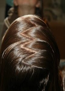Top view of the Zig Zag Part