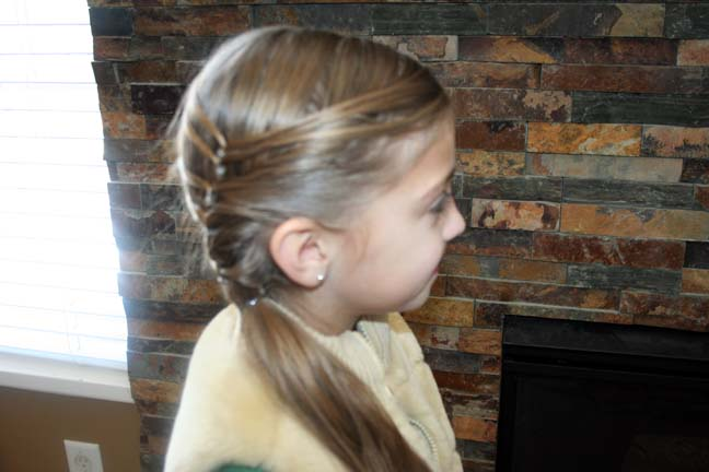 Layered Ponytail (Side)