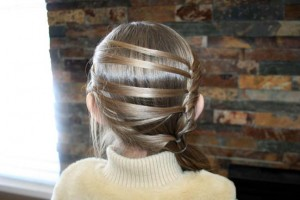 Layered Ponytail (Back)