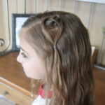 Hanging Heart   Valentine's Day Hairstyles