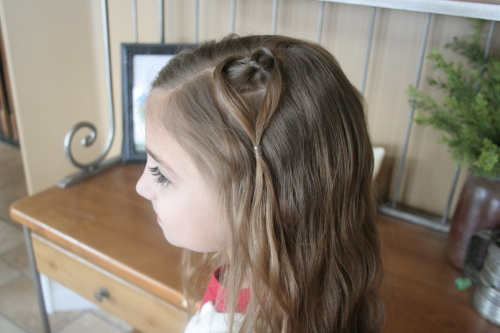 Hanging Heart | Valentine's Day Hairstyles