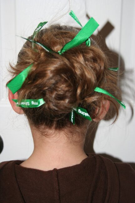 St.Patty Bun | St. Patrick's Day Hairstyle