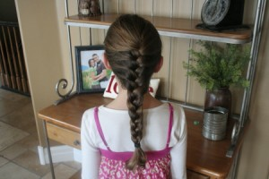 Simple French Braid