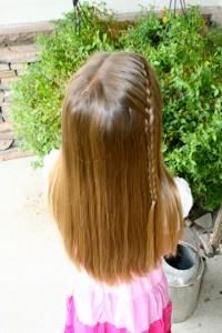 Same-Side Lace Braid {Back}