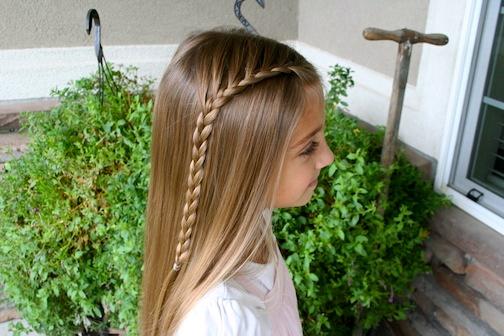 Side French Braid Cute Girls Hairstyles