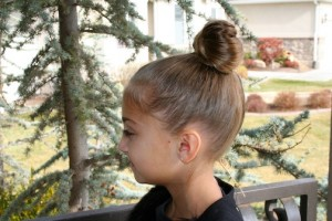 Hairstyle - Lady Gaga Hair Bow