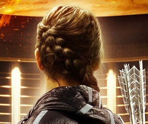 Back view of the Katniss Braid | Hunger Games Hairstyles