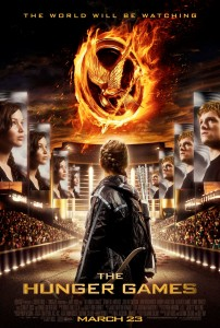 The Hunger Games Movie Poster x3 202x300 Katniss' Diagonal Dutch Braid Hairstyle Tutorial