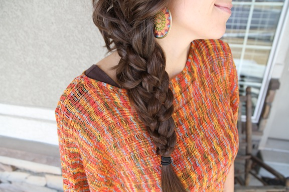 Five {5} Strand Messy Braid | Top Hairstyles