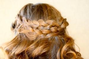 Close-up view of the Pancake Braid | Bohemian Hairstyles