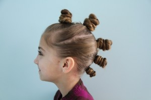 The Bun Hawk  {Faux Hawk} Hairstyle