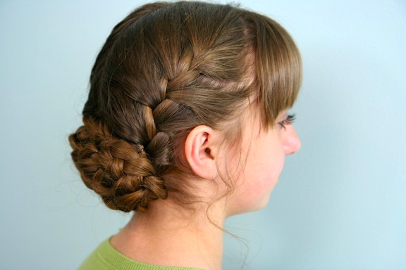 Katniss Reaping Braid Hunger Games Hairstyles