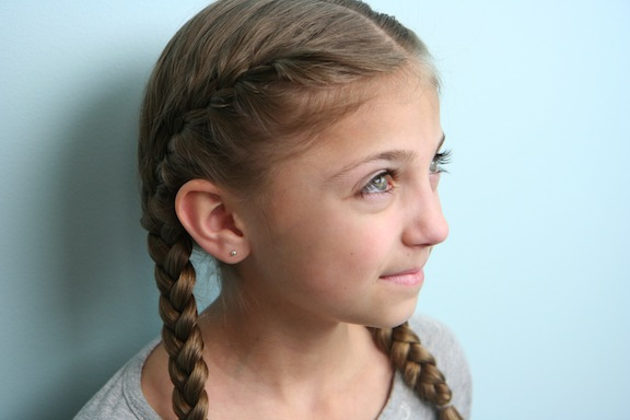Primrose Everdeen Braids | Hunger Games Hairstyles
