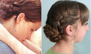 Katniss Reaping Braids | Hunger Games Hairstyles