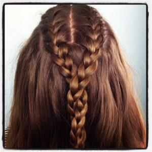 Double French Braid and Twist | Game of Thrones Hairstyles