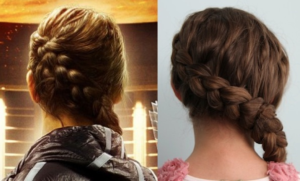 Authentic Katniss Braid Hunger Games Special Guest Cute Girls