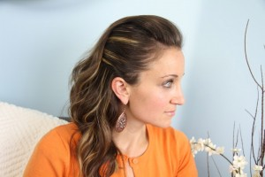 Edgy Side Pullback | Cute Hairstyles