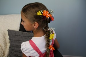 Rapunzel Braid Hairstyle From Disney's Tangled