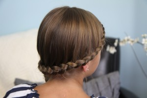 Double Lace Braid into Side Braid   Rihanna Hairstyles