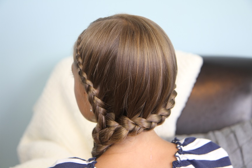 ... Lace into Side Braid | Rihanna Hairstyles | Cute Girls Hairstyles