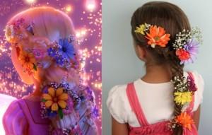 Rapunzel Braid Hairstyle | Disney's Tangled