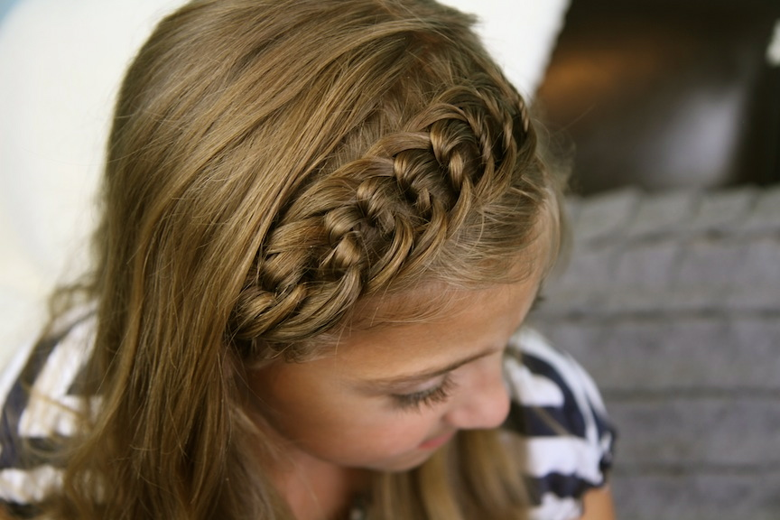 The Knotted Headband | Back-to-School Hairstyles | Cute Girls Hairstyles