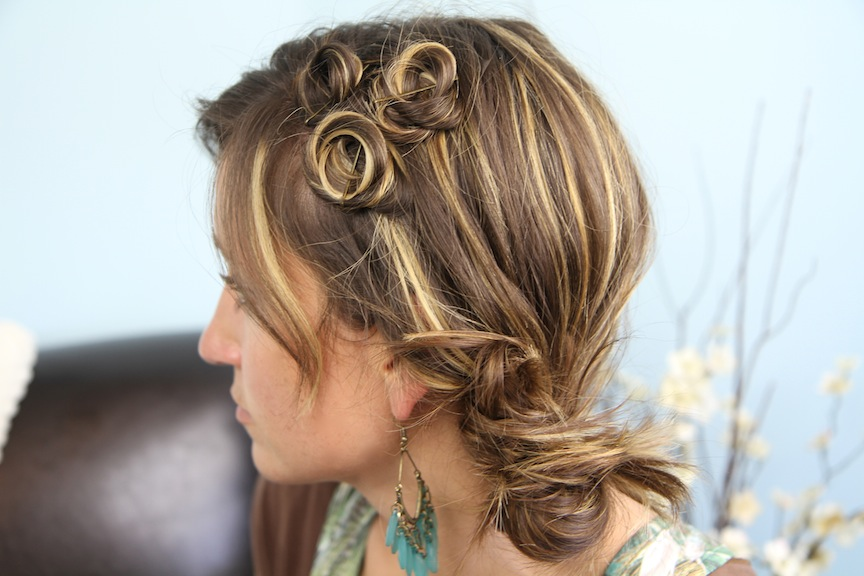 Wondrous Pin Coil Curl Accents Easy Hairstyle Ideas Cute Girls Hairstyles Schematic Wiring Diagrams Amerangerunnerswayorg