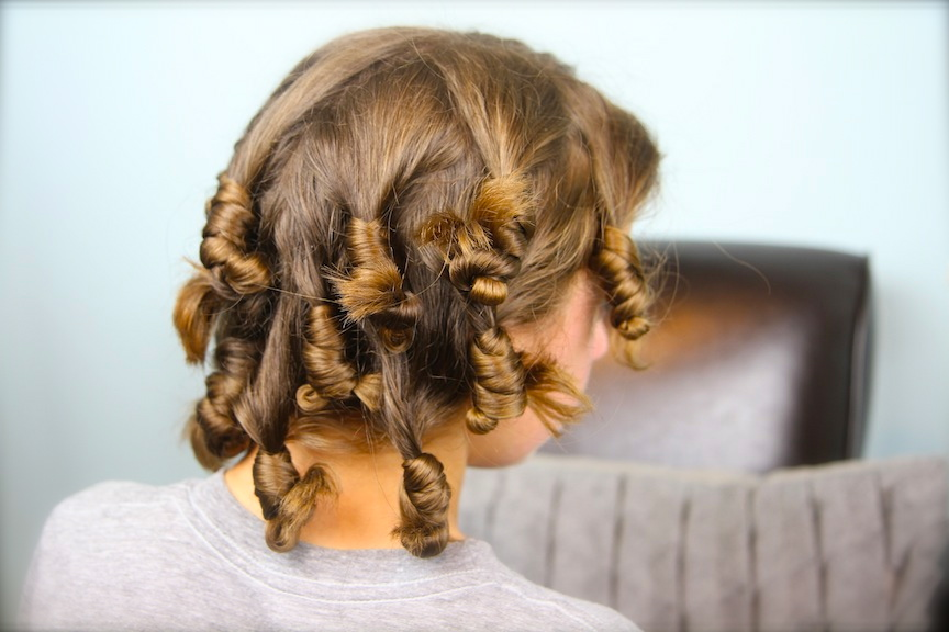 Cocoon Curls | No-Heat Curl Hairstyles
