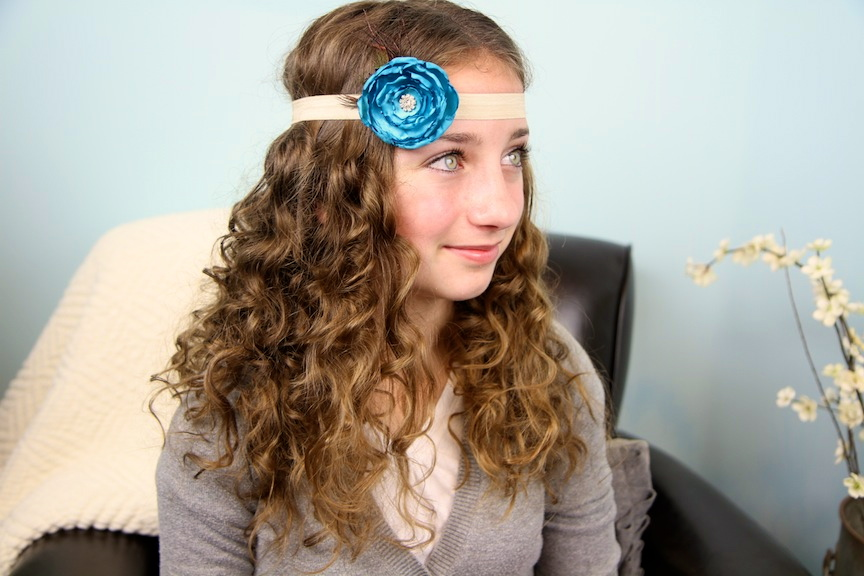 No Heat Curly Cocoon Hairstyle Get Girly Curls Without Heat