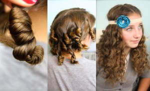 Cocoon Curls   No-Heat Curl Hairstyles
