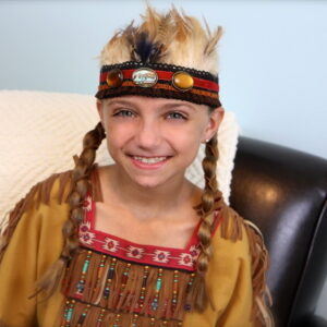 Loony Braids with Leather Accents | Cute Braid Ideas
