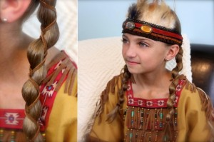 Loony Braid with Leather Accents