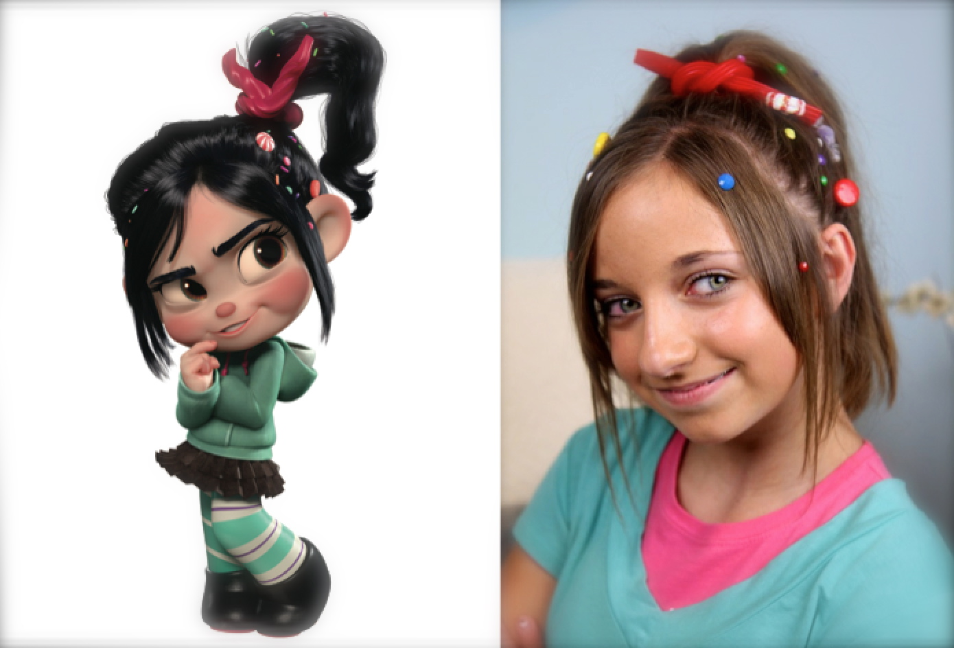 Wreck-It Ralph Hairstyles