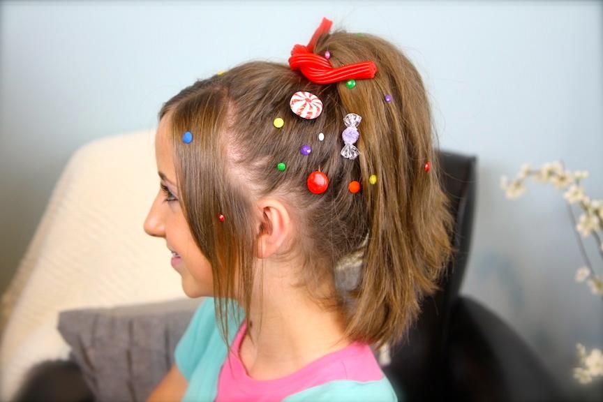 Vanellope von Schweetz Hairstyle