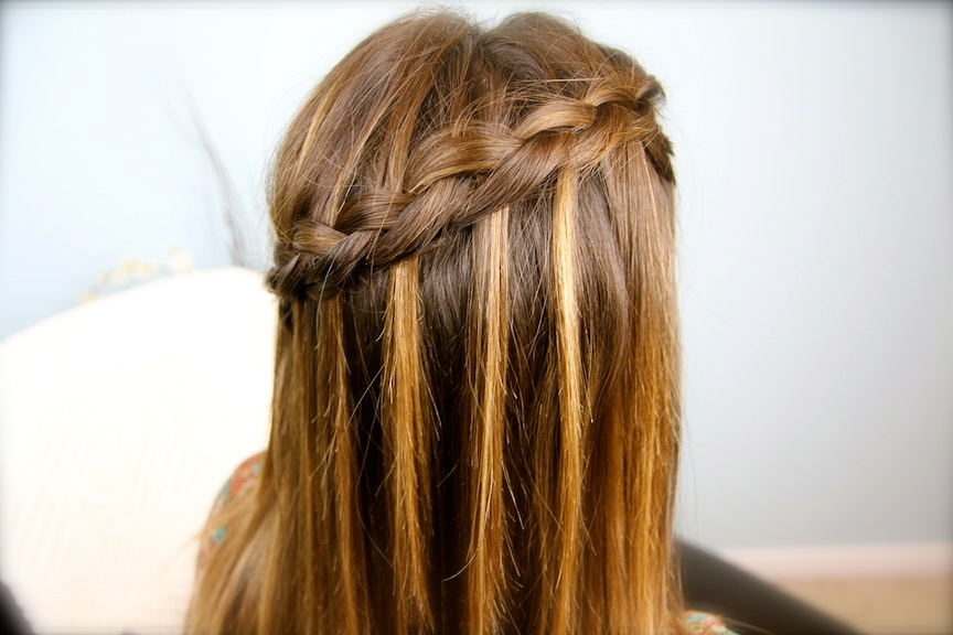 How to side french braid steps