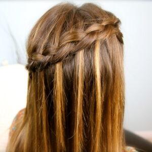 DIY Dutch Waterfall Braid   Popular Hairstyles