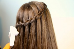 Dutch Waterfall Braid | Cute Girls Hairstyles
