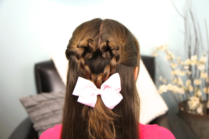 Cute girl hairstyles valentine s day