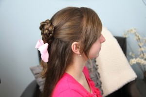 Twist-Braided Heart | Valentine's Day Hairstyles