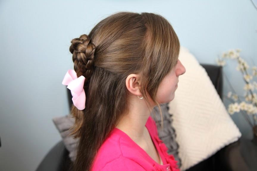 Twist-Braided Heart   Valentine's Day Hairstyles