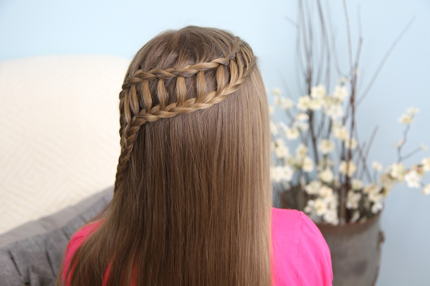 Ladder Braid Combo Cute Hairstyles
