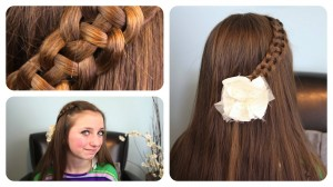 4-Strand Slide Up Braid | Cute Girls Hairstyles